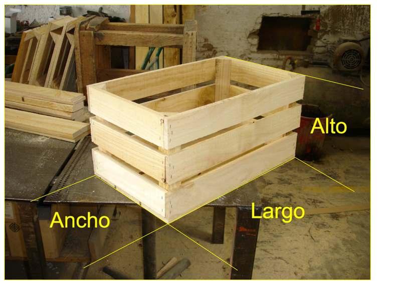 Embalajes de madera - Caja de frutas de madera ...
