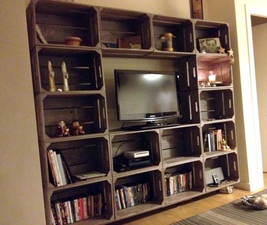 Embalajes de madera for Muebles con cajas de madera