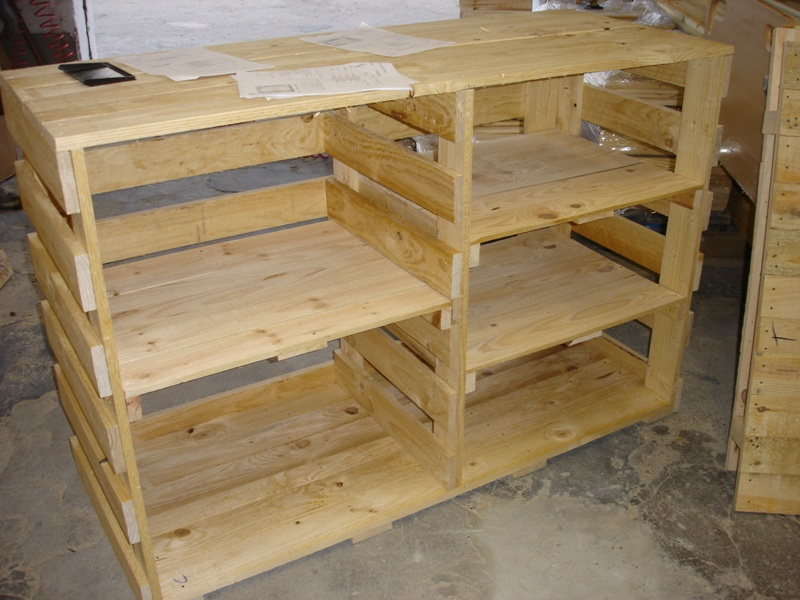 Embalajes de madera for Bar con madera reciclada